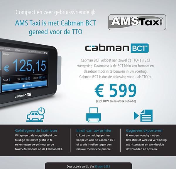 Cabman BCT deal